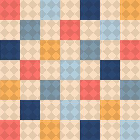 Seamless geometric pattern, vector format Vector