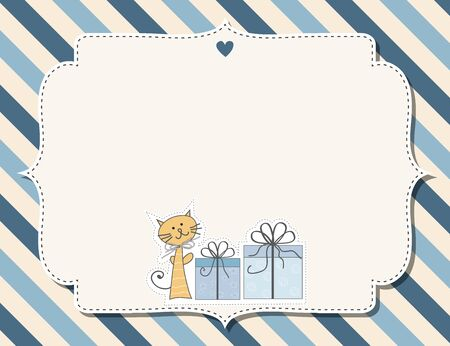 customizable: customizable childish background  for baby shower announcement or birthday party