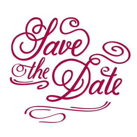 Save the Date, illustrator format