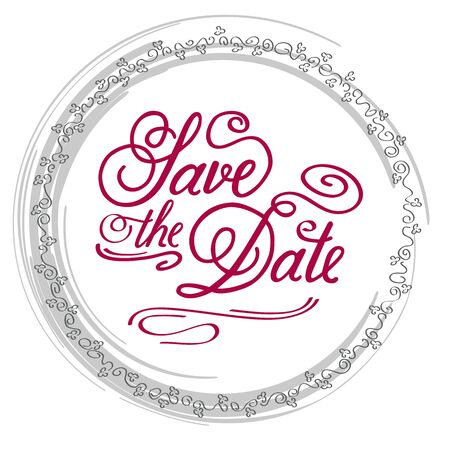 dattes: Save the Date, illustrator format