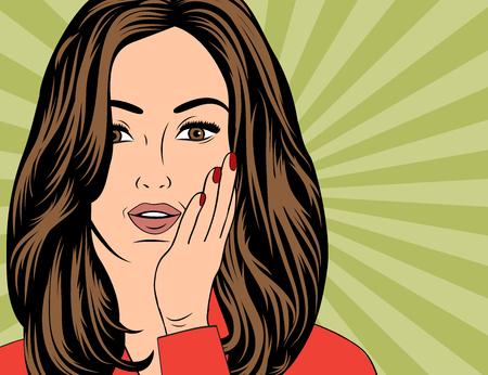 sexy beautiful woman , vector illustration