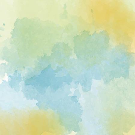 Watercolor background, vector format