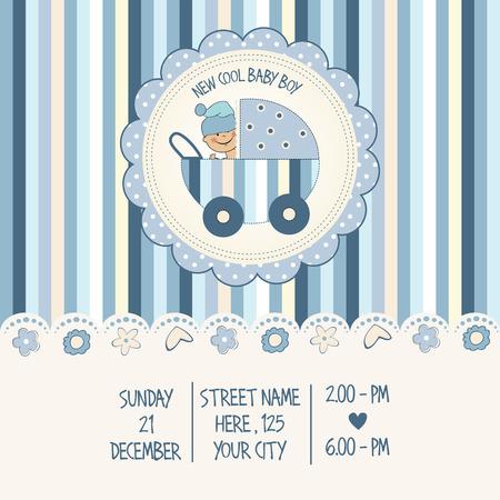 invitacion baby shower: beb� tarjeta de ducha