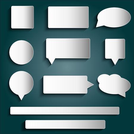 elementi di design - i tag, le etichette, bottoni, adesivi, formato vettoriale
