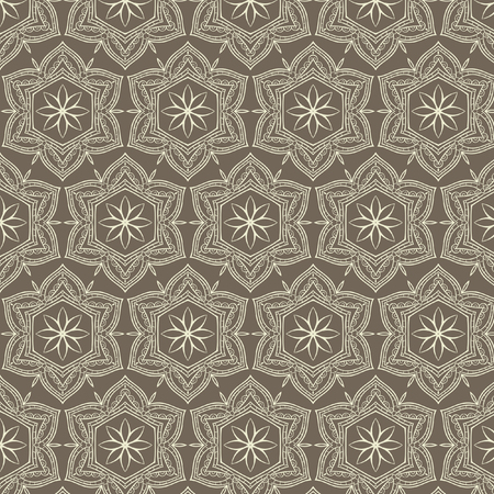 laced: Tribal art ethnic seamless pattern. Boho print. Ethno ornament. Cloth design, wallpaper, wrapping