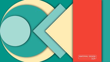 website design: Background Unusual modern material design.