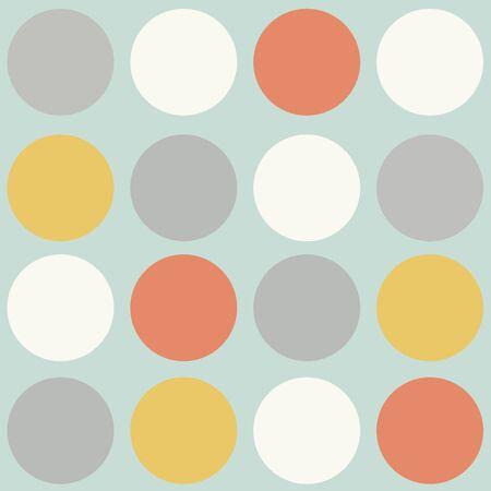 scandinavian: scandinavian geometric modern seamless pattern, vector format Illustration