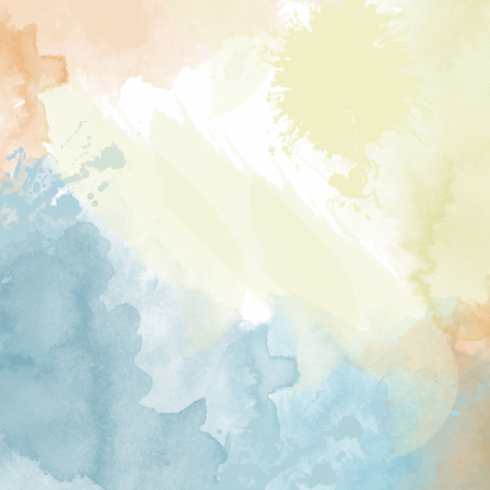 pastel watercolor  background. Digital art painting. Illustration