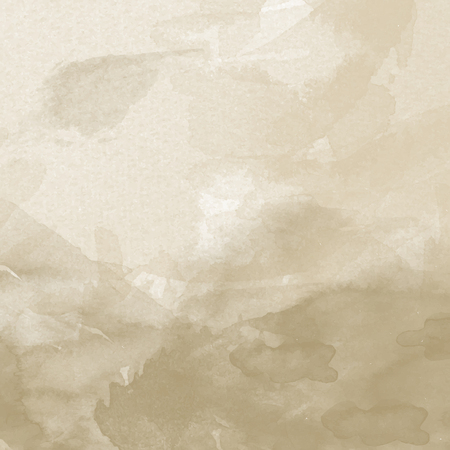 old paper watercolor background. Digital art painting.