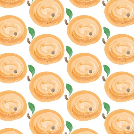 apricots: watercolor  apricots background, vector format