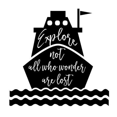 optimistic: Inspirational optimistic quote in vector format Illustration