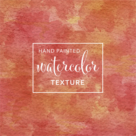 Red and yellow pastel watercolor on tissue paper pattern Illustration