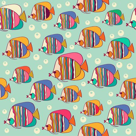 魚とパターン