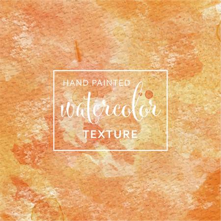 Acuarela pastel naranja y amarillo en el patrón de papel de seda Foto de archivo - 82828021