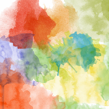 Beautiful hand painted watercolor background.