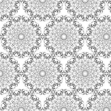 둥근 arabesques 요소와 동양 벡터 패턴입니다. 아라베스크와 빈티지 패턴입니다. 스톡 콘텐츠 - 95589221