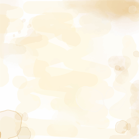 delicate watercolor background with water stains, vector format