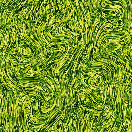 Creative green abstract marble effect texture background. Vector Ilustração