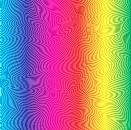 Modern  abstract rainbow background. Vector format
