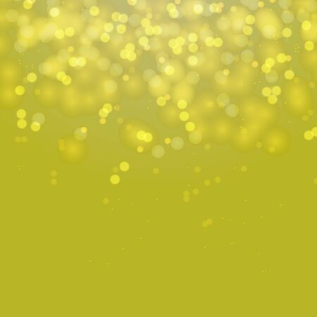 Beautiful green bokeh abstract background. Vector format