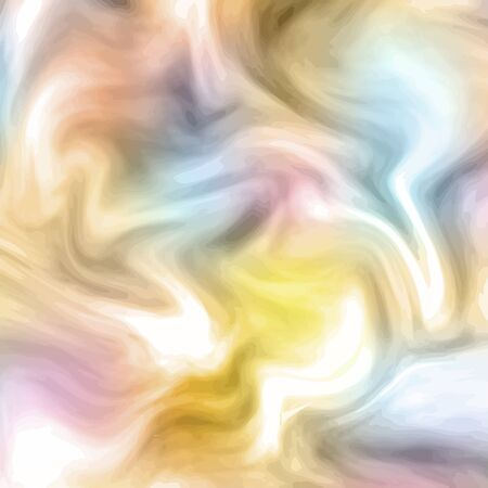 Modern colorful liquid waves.  Art design. Vector illustraton. Ilustração
