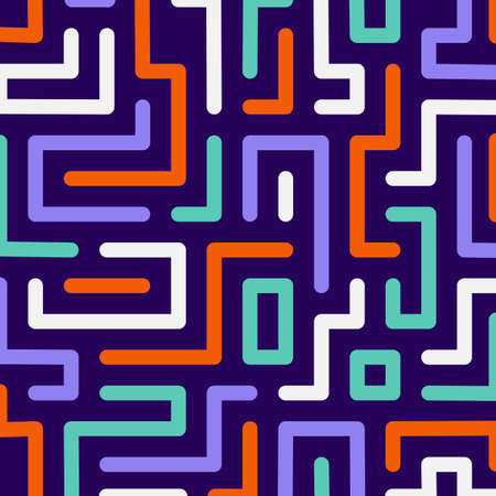 Colorful maze background. Vector format