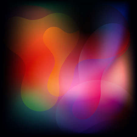 Abstract color fluid background. Liquid background. Vector 免版税图像 - 151149441