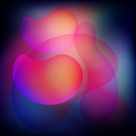 Abstract color fluid background. Liquid background. Vector 免版税图像 - 151149453