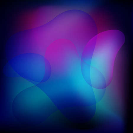 Abstract color fluid background. Liquid background. Vector 免版税图像 - 151149454