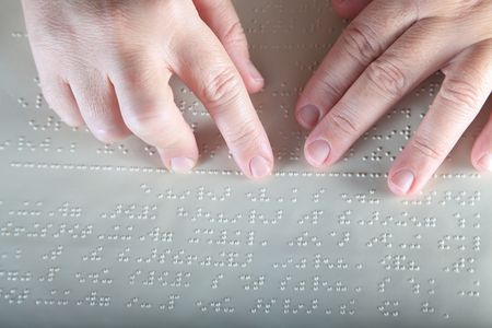 Method Braille - For blind people Stock Photo - 7621279