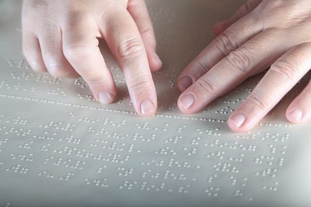 blind people: Method Braille - For blind people
