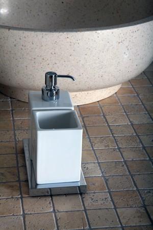 Bathroom set for soap Stock Photo - 8045228