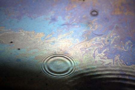 iridescence of oil
