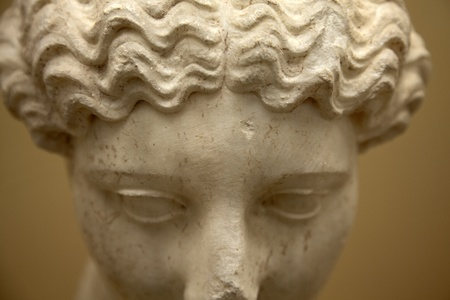 Classical sculpture, Ancient Agora of Athens, Greece Stock Photo