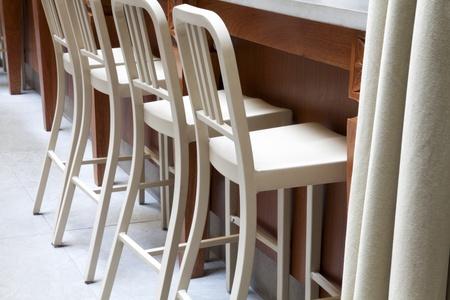 Coffee restaurant indoor with luxury wooden furniture Stock Photo - 8461289