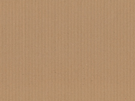 pasteboard: piece of brown and corrugated pasteboard