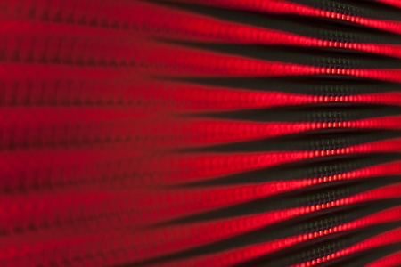 RGB led diode display panel. Selective focus. Shallow depth of field. Stock Photo