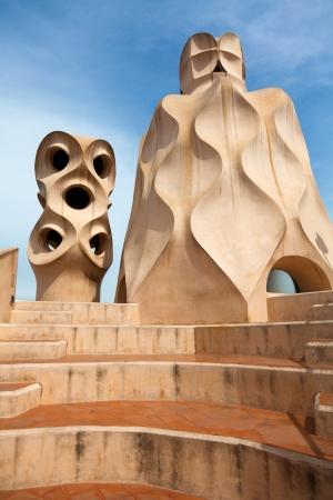 BARCELONA, SPAIN - APRIL 14: Antoni Gaudi