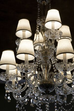 Brilliant Vintage Chandelier photo