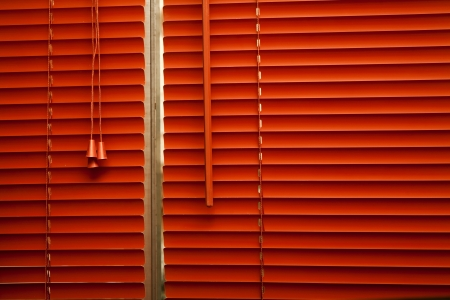 Orange blinds Stock Photo - 16674604