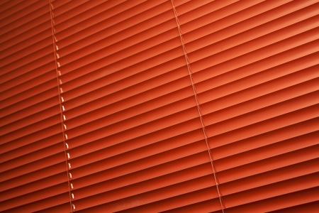 Orange blinds