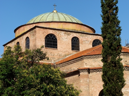 The Hagia Sophia is one of the oldest churches in that city still standing today. It is one of several monuments in Thessaloniki (Greece) included as a World Heritage Site on the UNESCO list.