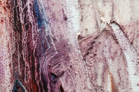 Detailed original artwork oil painting on stretched canvas. photo