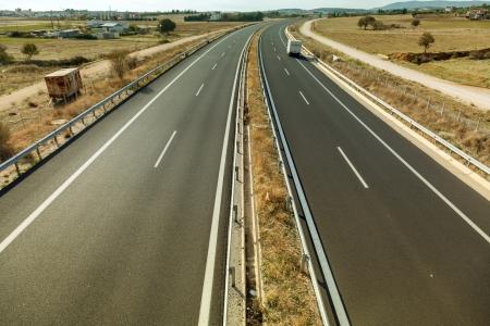 Egnatia Odos is the Greek part of the European route E90. Extends from the western port of Igoumenitsa to the eastern Greek  Turkish border at Kipoi. It runs a total of 670 km (420 mi). photo