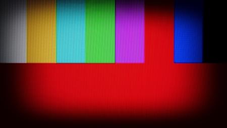 SMPTE カラーバーは、NTSC ビデオ規格が使用される使用されるテレビのテスト パターンです。テスト目的のため NTSC テレビのパターンの信号。実際の