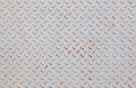 diamondplate: Background of old metal diamond plate in grey color