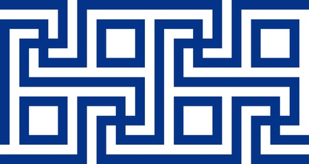 Motivo greco antico. Illustrazione vettoriale Eps 10