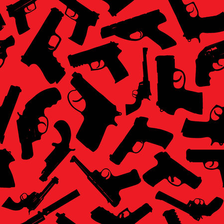 persuasion: Weapon vector seamless pattern. Vector EPS10