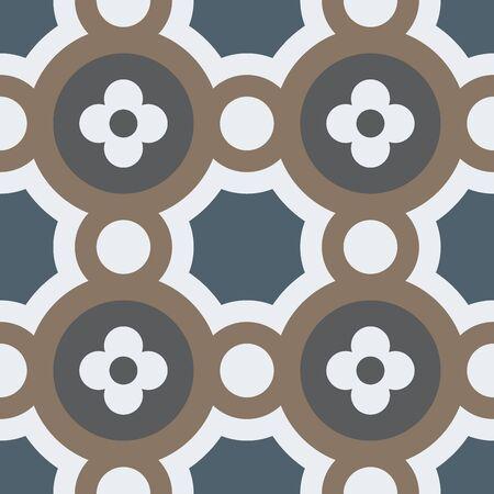 かわらシームレス パターン。  イラスト・ベクター素材
