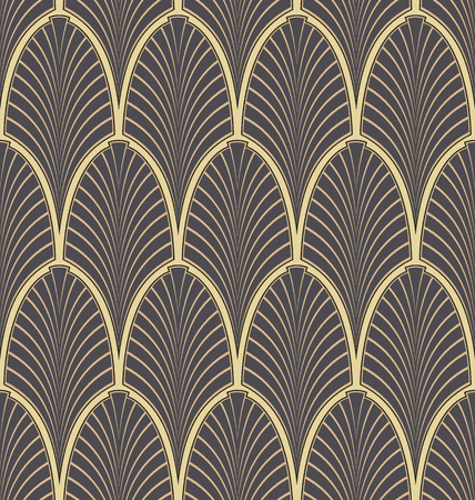 Seamless Art Nouveau Pattern Royalty Free Cliparts, Vectors, And ...